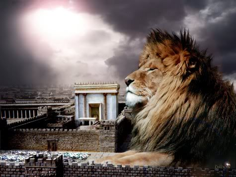 Images Israélites et Messianiques Yeshua_in_the_Outer_Court