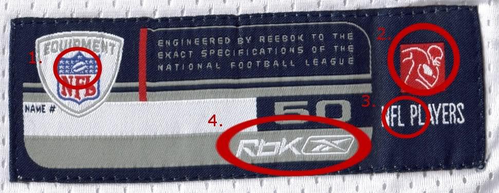 Close up comparisons in a genuine/fake tags etc. Evanshem1