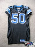Lions game worn Ernie Sims 05-06 alternate jersey Th_Picture010