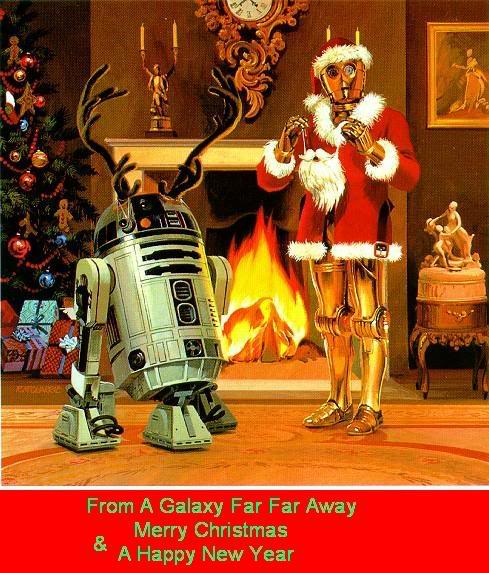 Christmas! The time to be jolly :D StarWarsChristmas