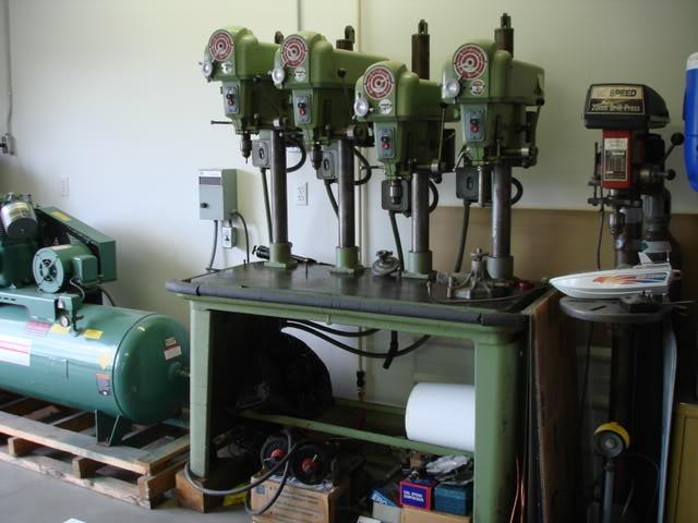 Delta Rockwell 4 head drill press DSC00714