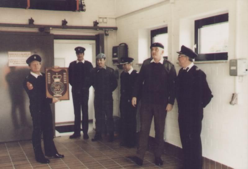 Opening ceremony Hildesheim Airfield Fire Station Torfek Bks 7MrBanksandOpeningCeremonyOfficers