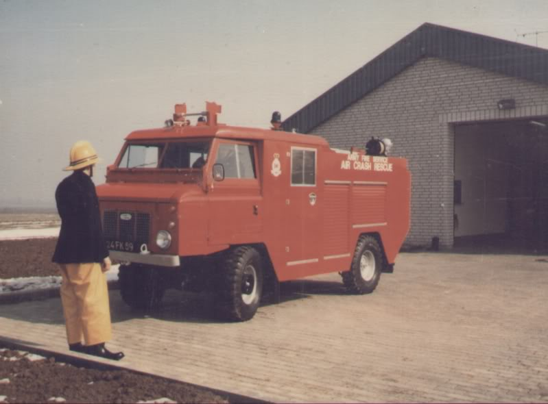 Opening ceremony Hildesheim Airfield Fire Station Torfek Bks 8-1