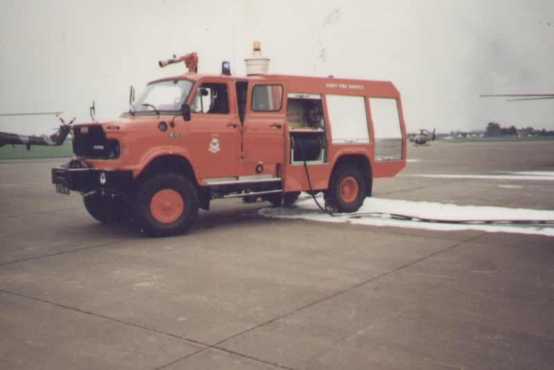 Opening ceremony Hildesheim Airfield Fire Station Torfek Bks 9-1