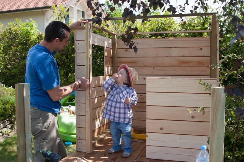 Cabane de jardin ... pour enfants _MG_1644
