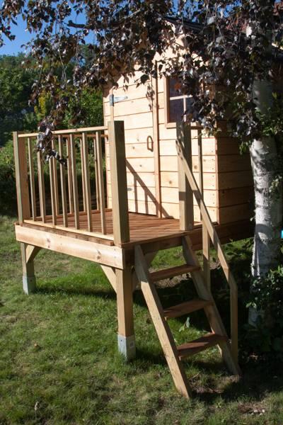 Cabane de jardin ... pour enfants _MG_2536