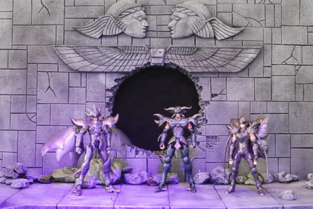 Miren que dioramas de Saint Seiya! Diorama1