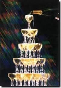 Wedding Reception of Islandbabe & Malion Scott Champagne-fountain