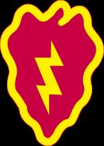 Ficha Técnica: 25th Infantry Division 25th_Infantry_Division_SSIsvg