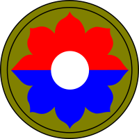 Ficha Técnica: 9th Infantery DIvision 9th_Infantry_Division_patchsvg