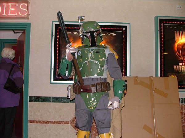 First SW costumes? Fett