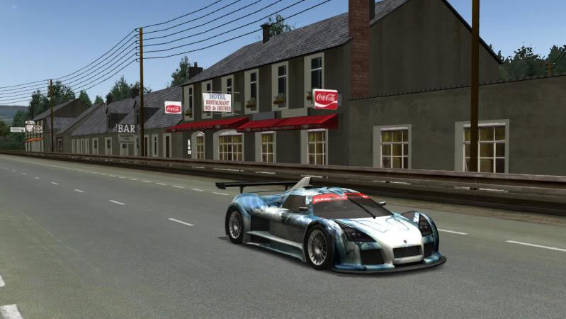 Arc's Gumpert at Le Mans ArcGumpertatLeMans