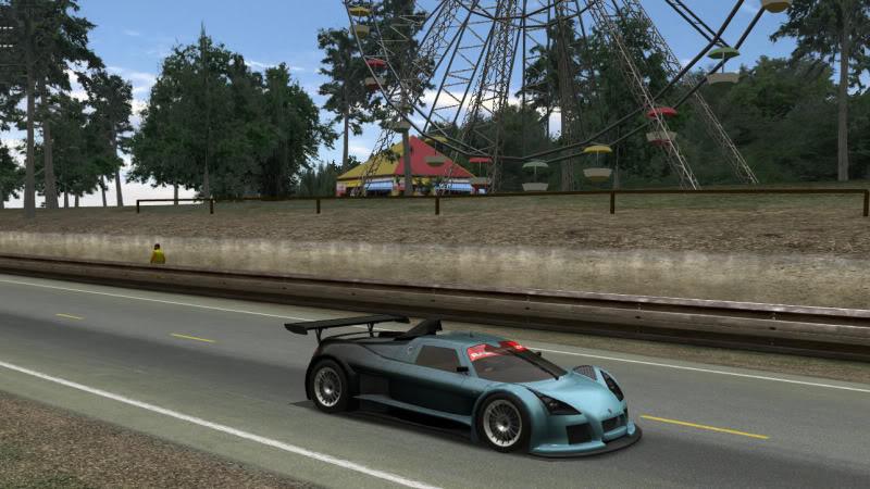 Arc's Gumpert at Le Mans SpikeGumpertatLeMans