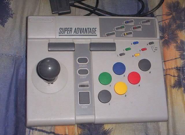 Finale - Les pads arcades Superadvantage_snes