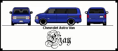 Chevrolet ChevyAstrovan