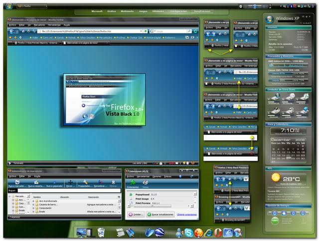 windows vista fire-fox theme Firefox2vistablackbetabni7