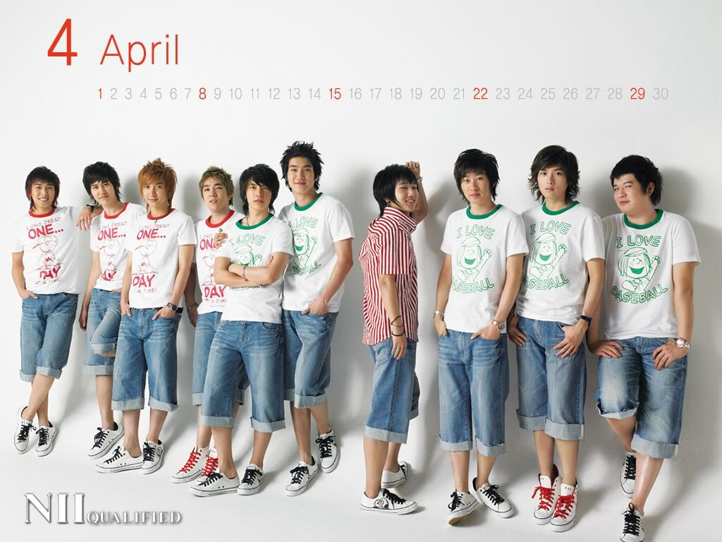 SUPER JUNIOR_ KOREAN EXTREMELY HANDSOME GROUP ^0^ NIIApril