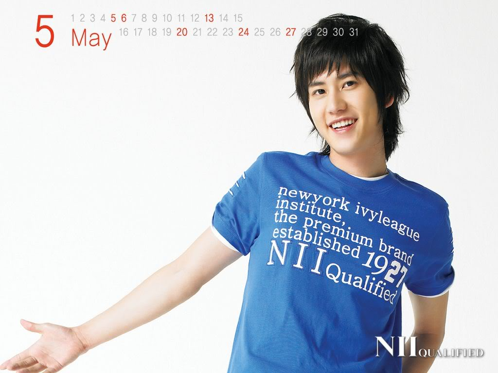 SUPER JUNIOR_ KOREAN EXTREMELY HANDSOME GROUP ^0^ NIIMay-KyuHyun