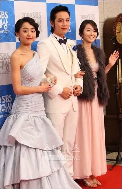 Moon Geun Young tại lễ trao giải SBS Drama Award 2009 1-19
