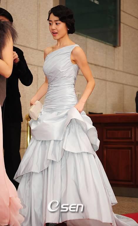 Moon Geun Young tại lễ trao giải SBS Drama Award 2009 7-8