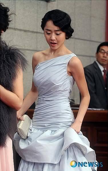 Moon Geun Young tại lễ trao giải SBS Drama Award 2009 8-9