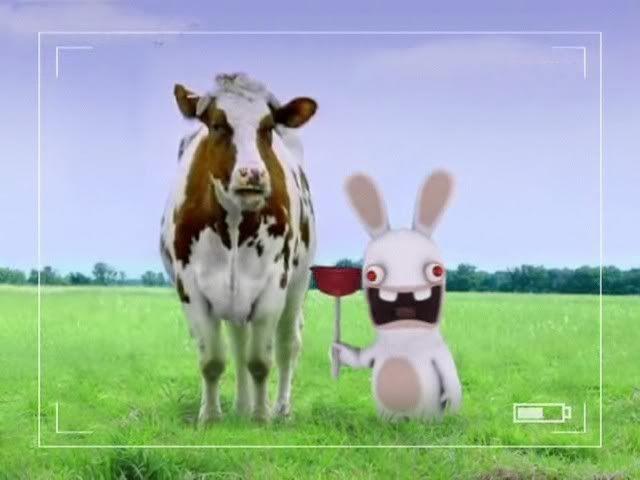 The Rabbits! - 56k warning Cow