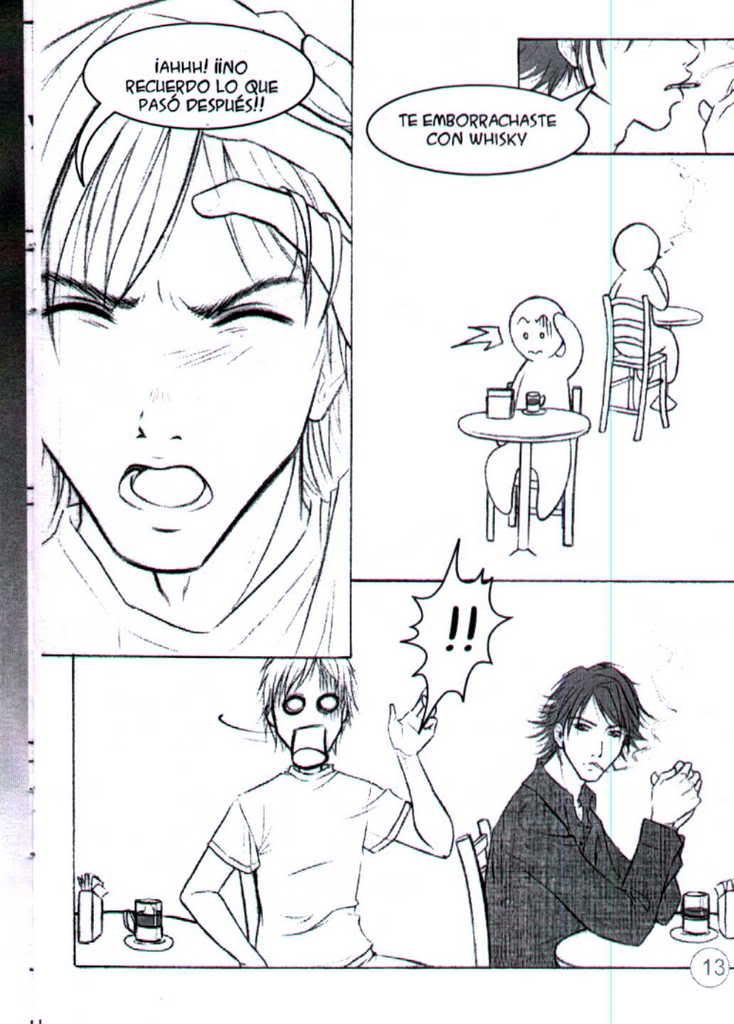 Deja vù (manga yaoi hecho por chilenas) 13