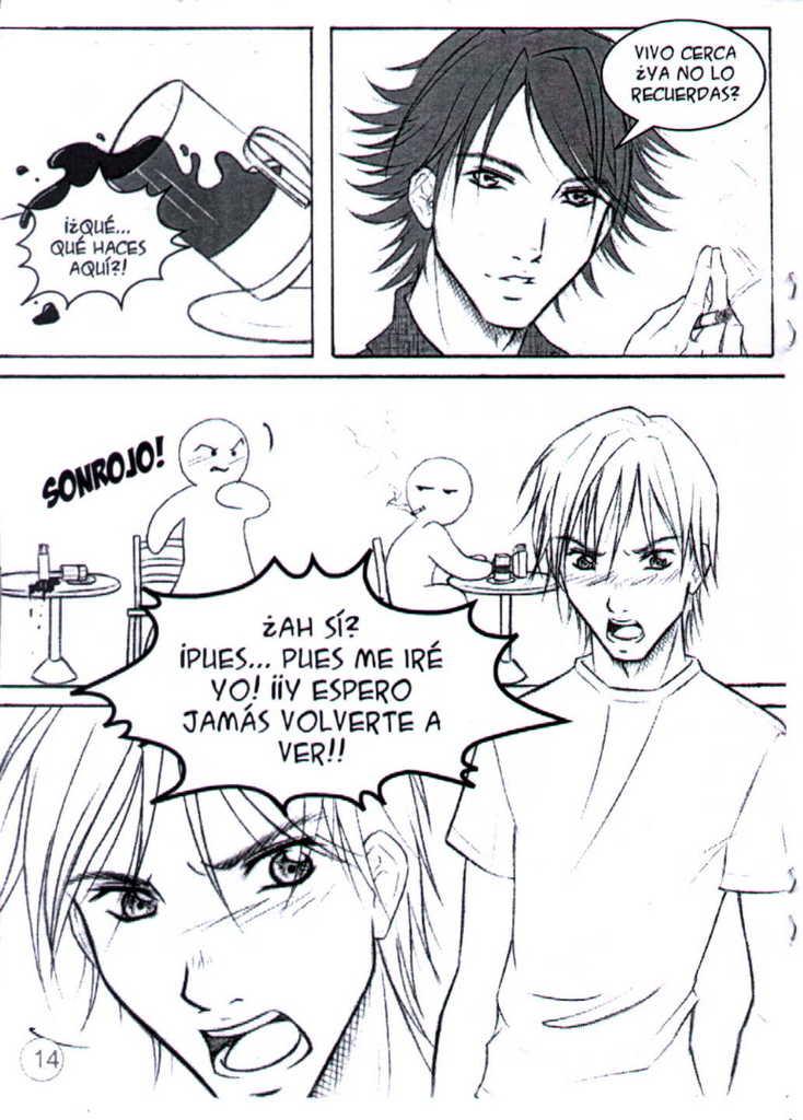 Deja vù (manga yaoi hecho por chilenas) 14
