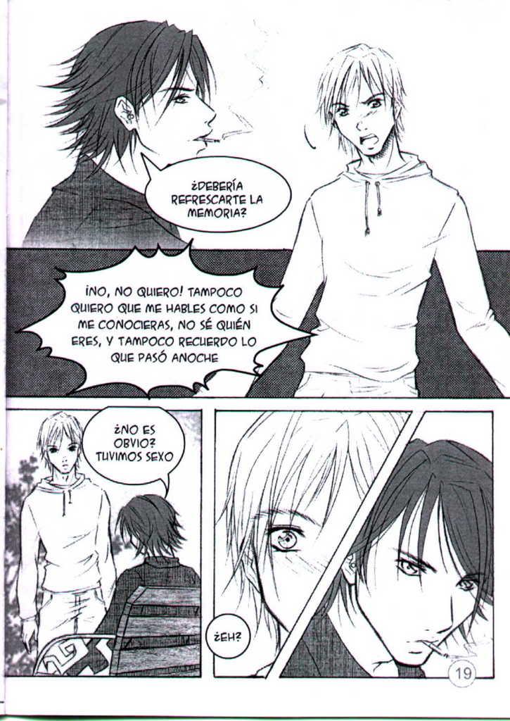 Deja vù (manga yaoi hecho por chilenas) 05