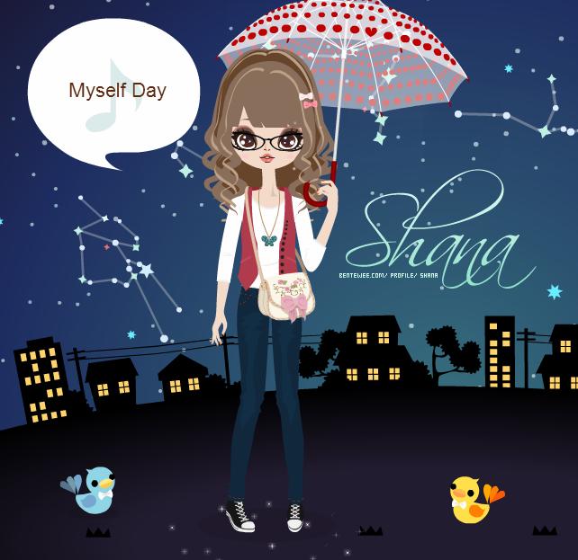 ♦ Myself Day ♦ Myselfday