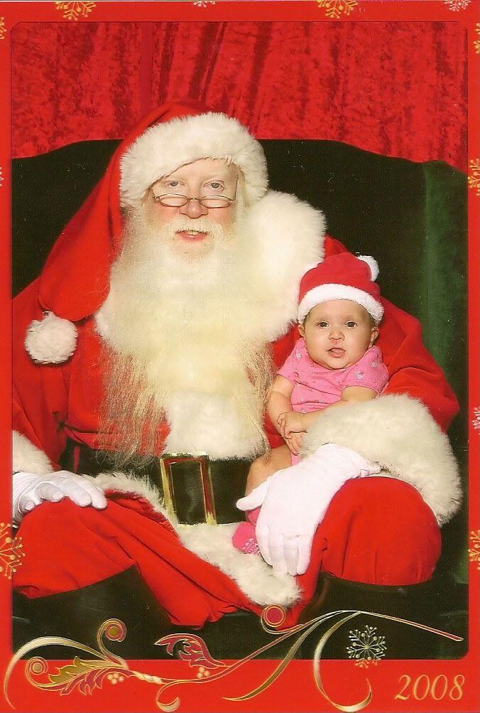 Picture of my Dearest Daughter Kyras1stXmasA