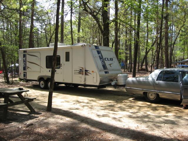 Towing 4700 lb Camper CarTrailer2-1
