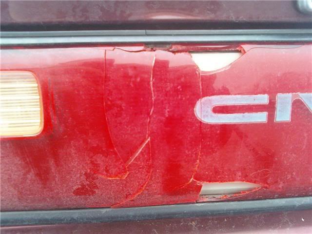Neighbor hit my car today Mycar