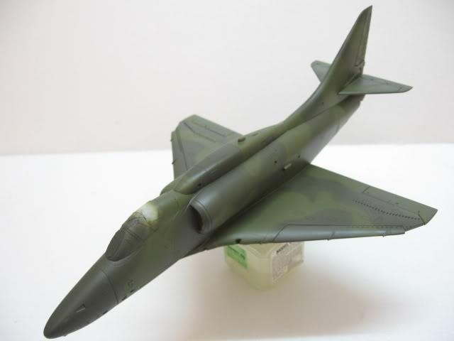 A-4PTM 1/48........PTM(Pakai Tangkap Muat)....kekekeke.....yg ni saya tunjuk sikit mcmane nakairbrush camou IMG_1522