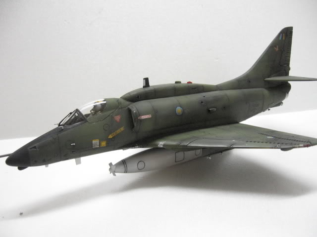 A-4PTM 1/48........PTM(Pakai Tangkap Muat)....kekekeke.....yg ni saya tunjuk sikit mcmane nakairbrush camou IMG_1551