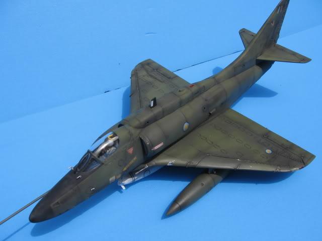 A-4PTM 1/48........PTM(Pakai Tangkap Muat)....kekekeke.....yg ni saya tunjuk sikit mcmane nakairbrush camou IMG_1578