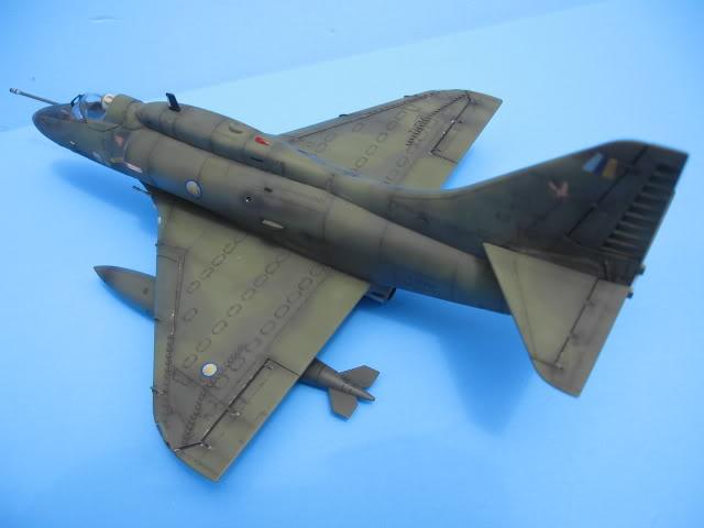 A-4PTM 1/48........PTM(Pakai Tangkap Muat)....kekekeke.....yg ni saya tunjuk sikit mcmane nakairbrush camou IMG_1580