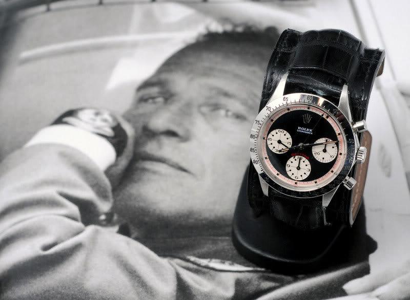 La montre des Grands Hommes [historique] RolexNewmanstrap20-1