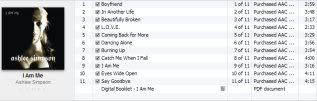 Discografía de Ashlee Simpson + Extras 28bw677