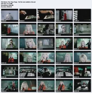 Videografia + Discografia + Singles- The Ting Things 6-1