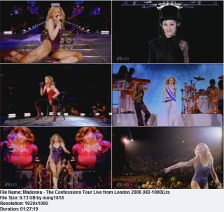 Essential Videos- Madonna Tours (1985-2008) Confessionstour