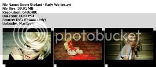Colección de Videos de Gwen Stefanni [DVDRIP] [FS] Earlywint