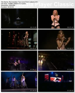 Essential Videos- Madonna Tours (1985-2008) Reinventiontour
