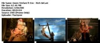 Colección de Videos de Gwen Stefanni [DVDRIP] [FS] Richgirl