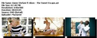 Colección de Videos de Gwen Stefanni [DVDRIP] [FS] Sweetescape-1
