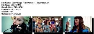 Colección de videos de Lady Gaga [FS] Telephone-1
