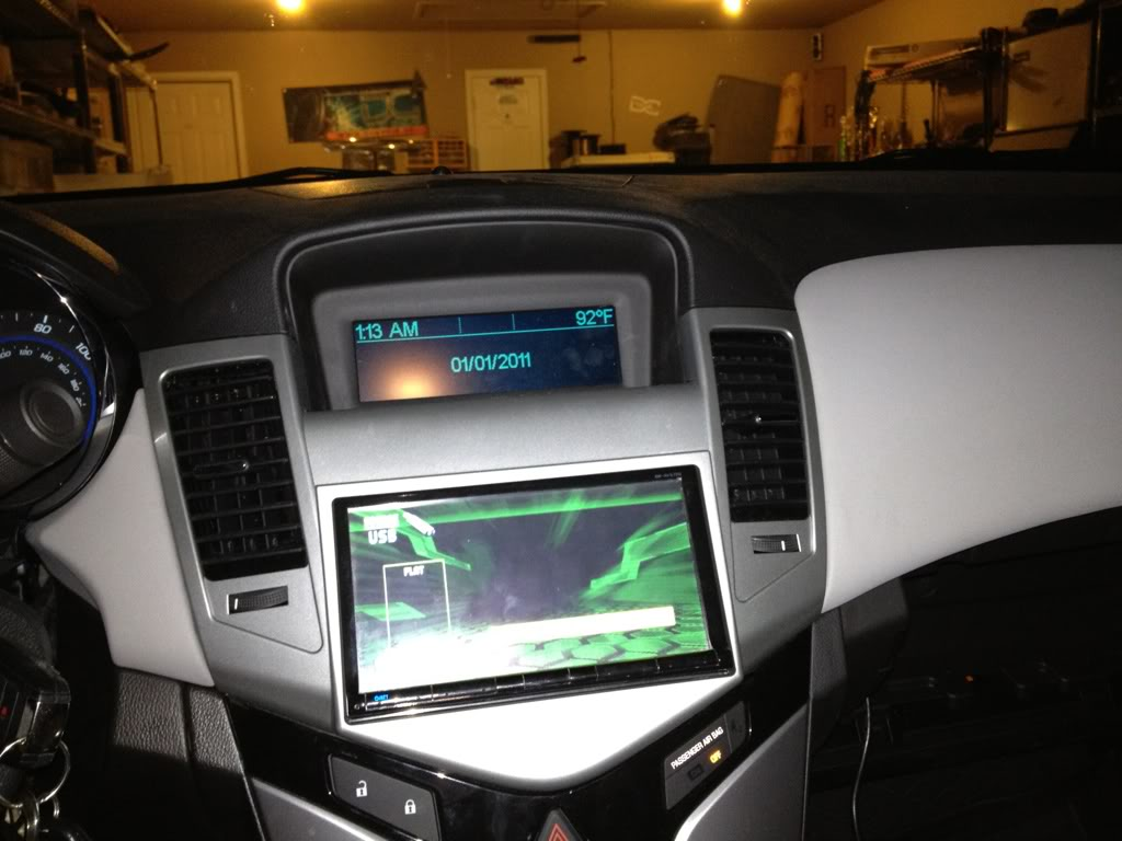 2012 Chevy Cruze Dc Audio 2011 Fuse Box Installed A Double Din Today With Help From Jonatan