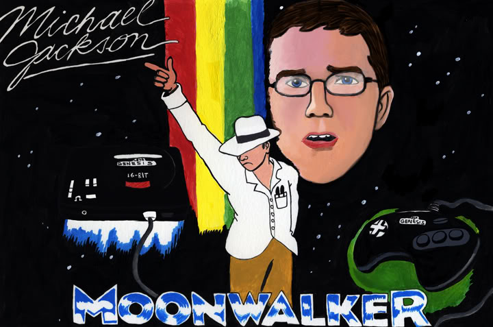 You can't miss THIS if you're in the Gaming section. (AVGN) 063MoonWalkerRedo