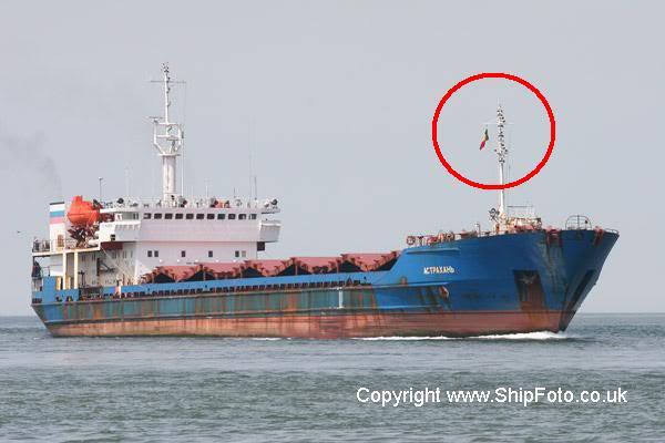 Ý nghĩa của những lá cờ trên tàu biển Astrakhan-21-June-2005