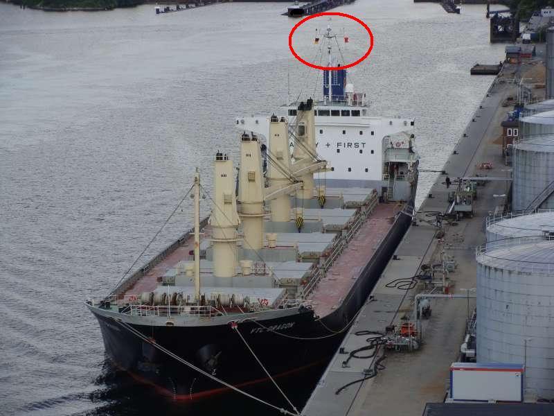 Ý nghĩa của những lá cờ trên tàu biển VTCDRAGON8
